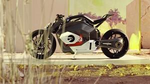BMW Designstudie für ein Elektromotorrad