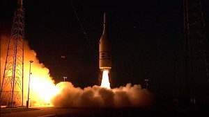 Sicherheitstest des Orion-Raumschiffs (Nasa)