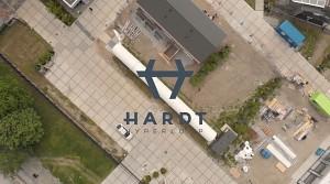 Teströhre in Delft von Hardt Hyperloop