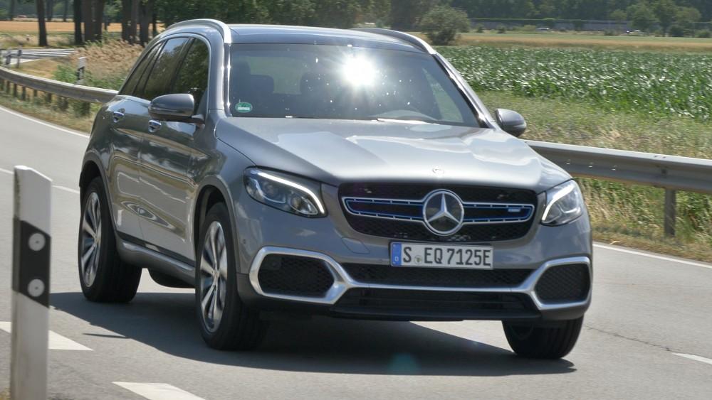 Wasserstoff-Mercedes GLC F-Cell im Test