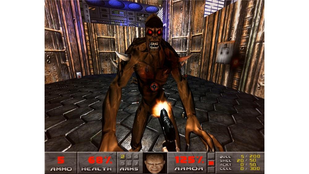 Doom 1 in der Doom 3 Engine angespielt