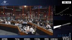Arianespace Vega abgestürzt (Nasa)