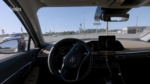 Autonom fahrender Hyundai Sonata - Yandex