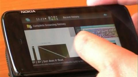 Nokia N900 Präsentation von Jussi Mäkinen