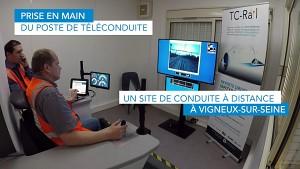 Zug fährt ferngesteuert - SNCF