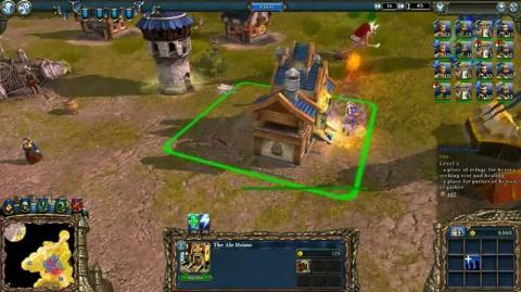 Majesty 2 The Fantasy Kingdom Sim - Spielszenen