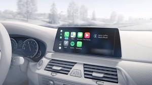 BMW zeigt Connected Drive mit Apples Carplay (Herstellervideo)