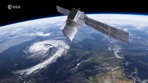 Erdbeobachtungssatellit Aeolus - Esa