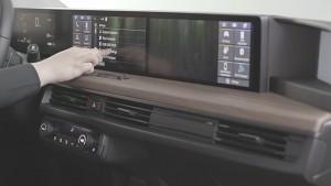 Touchscreen des Honda E