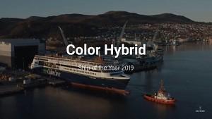 Schiff des Jahres 2019 MS Color Hybrid - Ulstein
