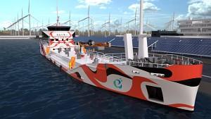 Elektrischer Tanker von E5 - Herstellervideo