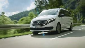 Elektrischer Van Mercedes EQV - Daimler