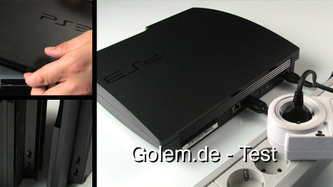 Sony Playstation 3 Slim - Test