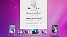 Apple MacOS X 10.6 Snow Leopard - Test