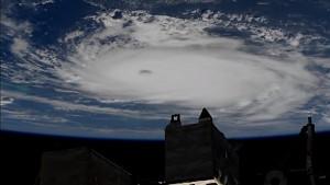 Der Hurrican Dorian von der ISS aus gesehen (Nasa)