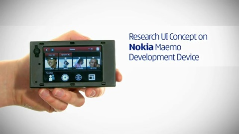 Nokia Linked Internet UI