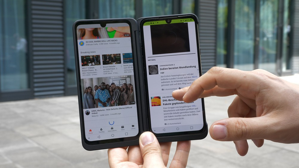 LG G8x Thinq - Hands on