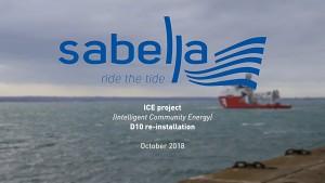 Strömungsturbine D10 - Sabella