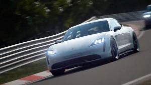 Porsche Taycan Turbo S in Gran Turismo Sport - Trailer