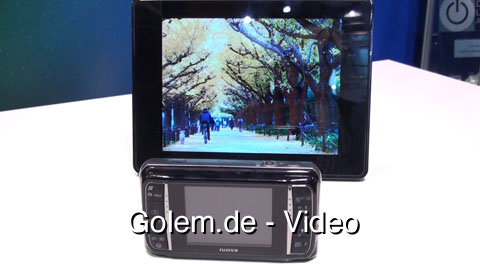 Vorstellung der Fujifilm Finepix Real 3D auf der IFA 2009