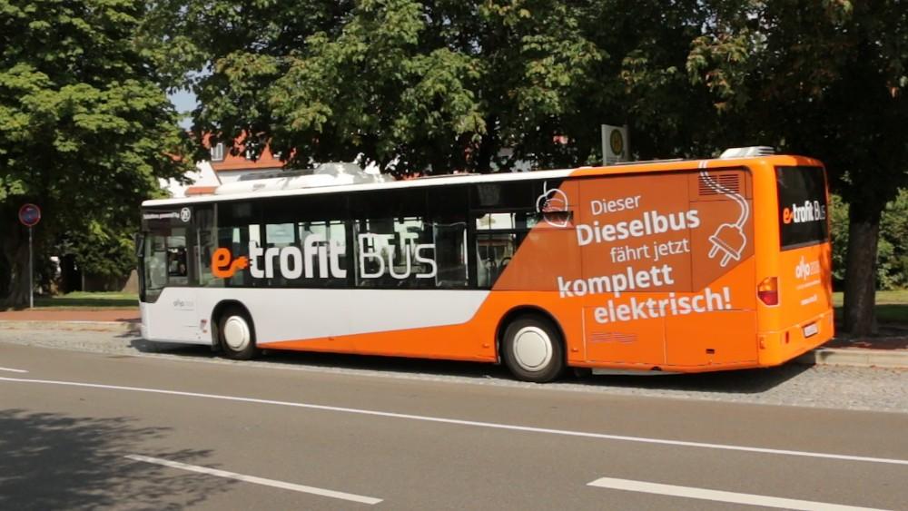 E-Trofit elektrifiziert Dieselbusse - Bericht