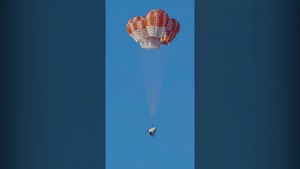 SpaceX Crew Dragon Fallschirmtest