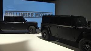 Bollinger Motors präsentiert den B1 und den B2
