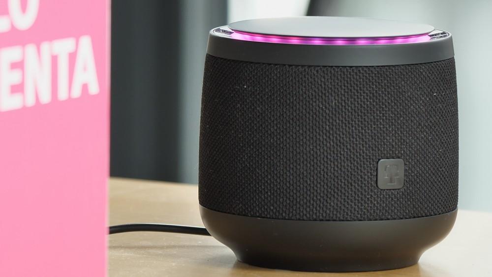Hallo Magenta und Alexa auf dem Smart Speaker der Telekom