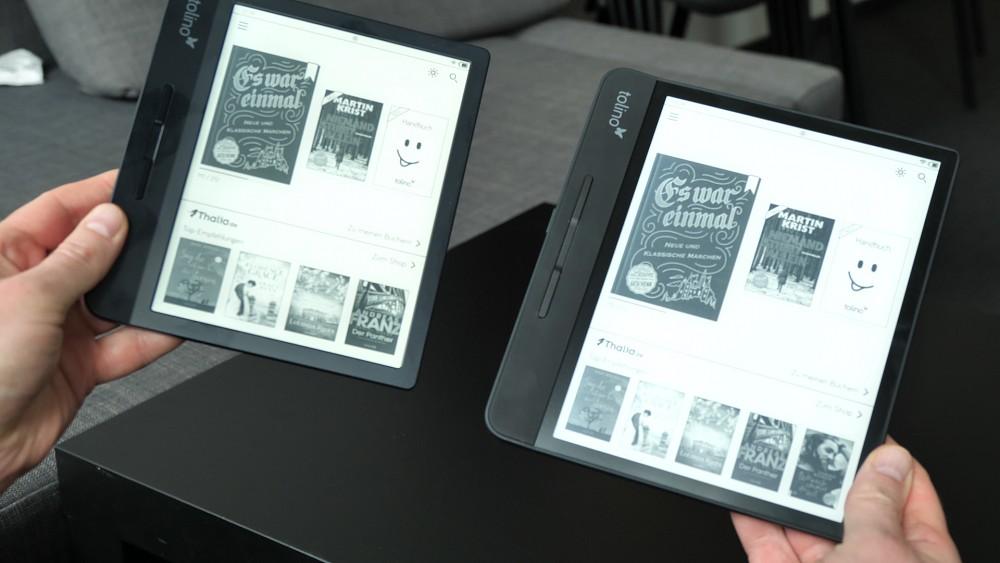 Tolino Vision 5 HD und Epos 2 im Hands On