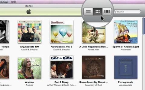 iTunes 9 - Demonstration vom Apple Special Event im September 2009