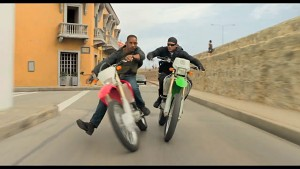 Gemini Man - Actionszene mit Motorrädern (Filmausschnitt)