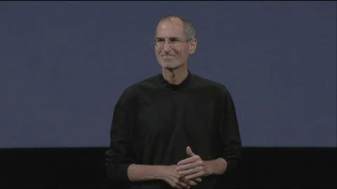 Steve Jobs wirbt für Organspenden auf dem Special Event im September 2009