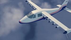 Elektroflugzeug X-57 Maxwell - Nasa