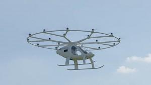 Volocity fliegt in Stuttgart - Volocopter