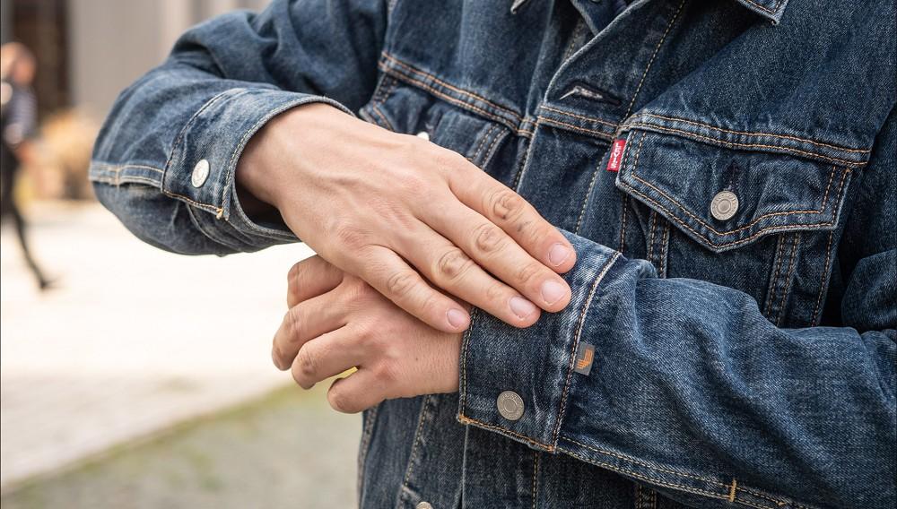 Smarte Jeansjacke von Levis ausprobiert