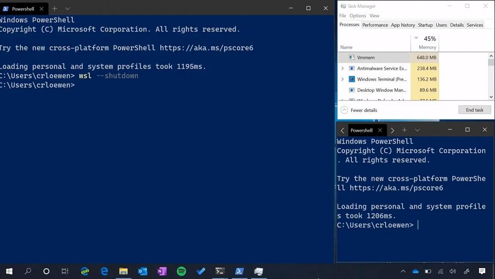 WSL2-Speicher wird dynamisch (Microsoft)