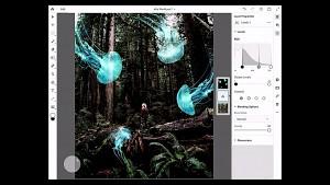 Demo von Photoshop auf dem iPad (Adobe Max 2018)