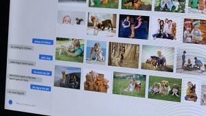 Brett Butterfield von Adobe zeigt KI-Bildersuche per Sprache (englisch)