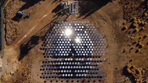 Solaranlage für industrielle Anwendungen - Heliogen