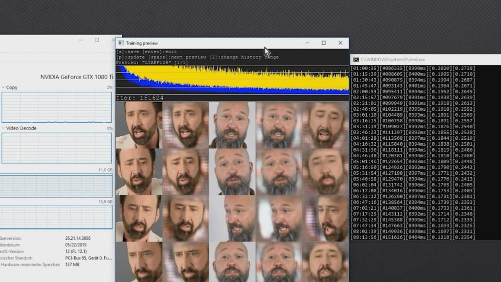 Eigene Deep Fakes mit DeepFaceLab - Tutorial