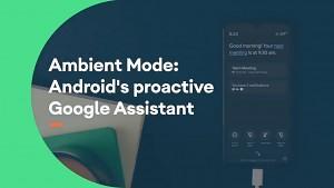 Google Ambient Mode - Herstellervideo