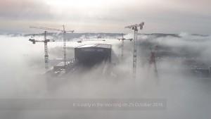 Fusionsreaktor ITER mit Drohne abgeflogen (ITER Organization)