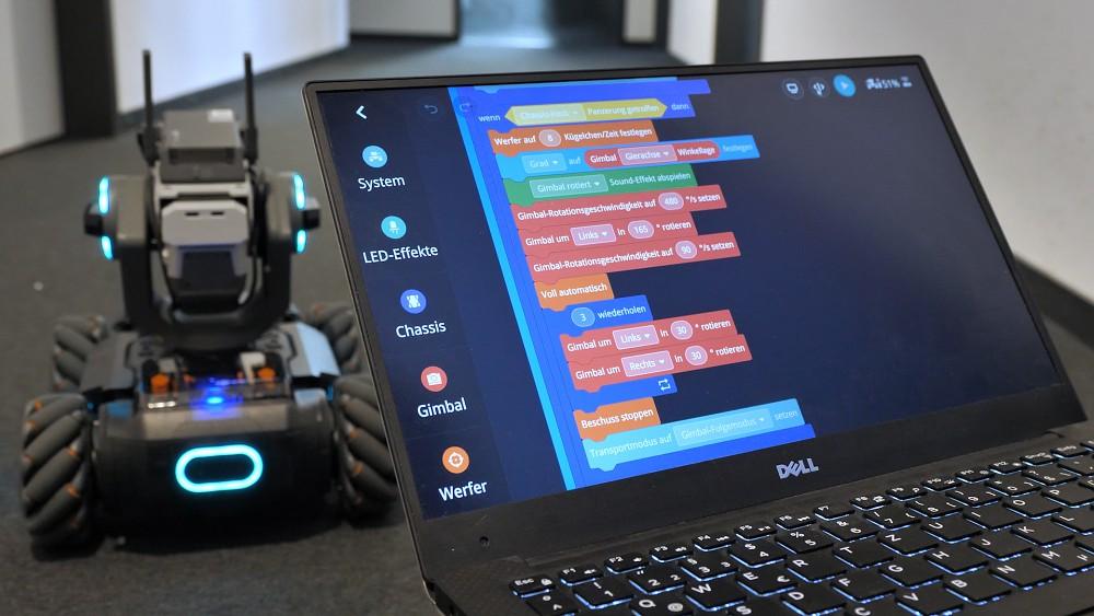 DJI Robomaster S1 - Test
