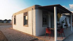 3D-gedruckte Häuser - New Story