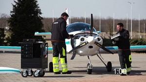 Betanken eines Elektroflugzeuges in 5 Minuten (Rolls Royce)