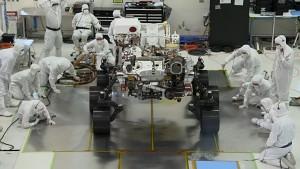 Fahrtest des Rovers Mars 2020 - Nasa
