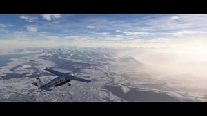 Wettersimulation mit Schnee im Microsoft Flight Simulator (Herstellervideo)