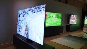 Rahmenloser TV von Samsung (CES 2020)