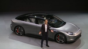 Sony Vision S vorgestellt (CES 2020)