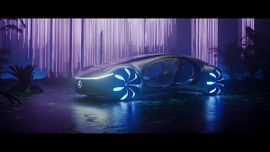 Konzeptfahrzeug AVTR - Daimler